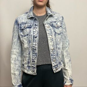 Mossimo Bleached Denim Jacket